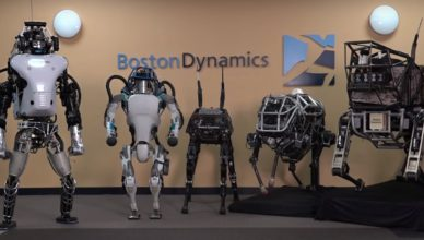 Роботы Boston Dinamics
